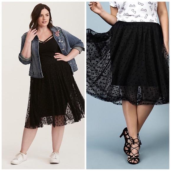 NWT Torid Plus size Tulle Skirt NWT
